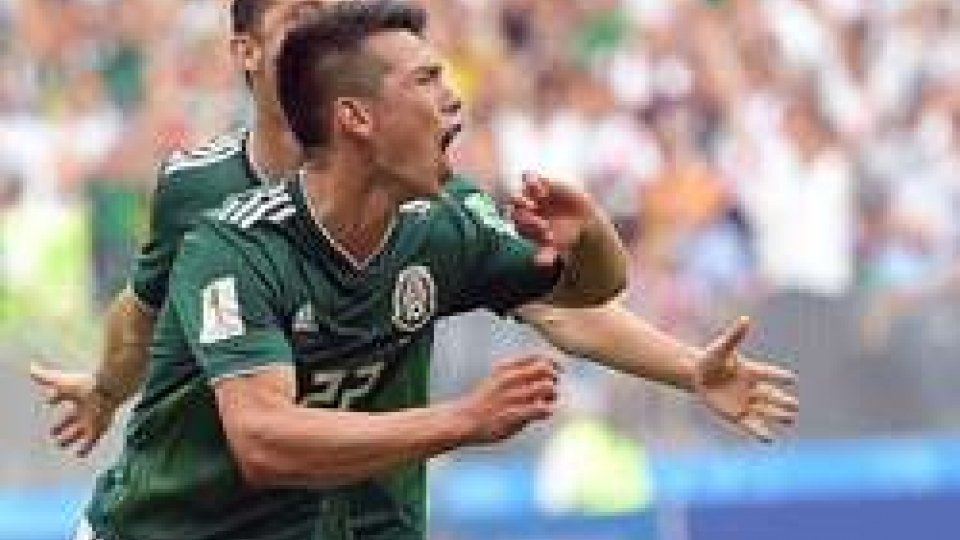 Lozano manda il Messico in paradiso, battuta la Germania