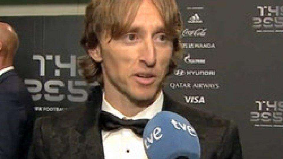 """Luka Modri?Modric: """"Mi godo questo premio, poi subito testa ai prossimi impegni"""""""