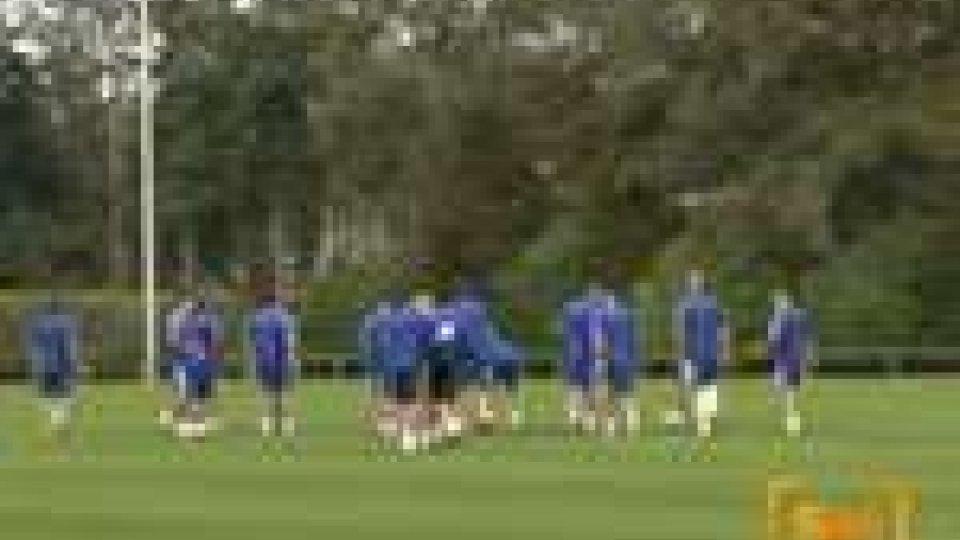San Marino - Primo allenamento ad Eindhoven per la nazionale