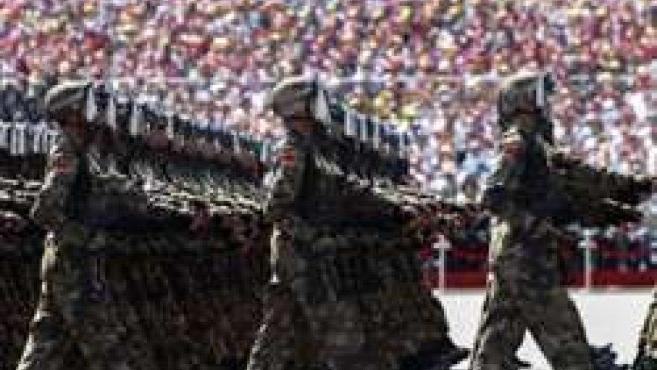 Cina: Gianfranco Terenzi alla grande parata militareCina: Gianfranco Terenzi alla grande parata militare