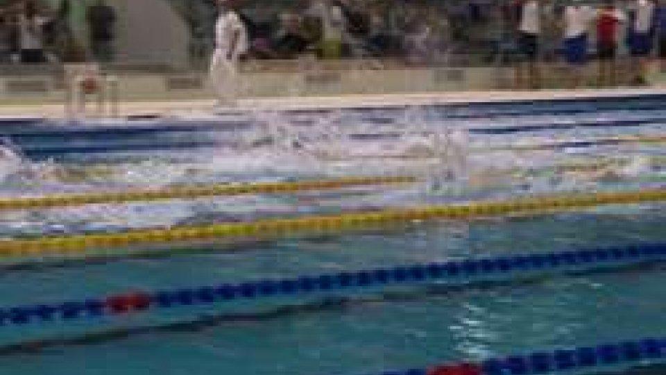 Nuoto, al Meeting di San Marino due argenti e un bronzo per la coppia Casadei-Tamagnini. 4x100 mx donne ai Giochi dei Piccoli Stati.