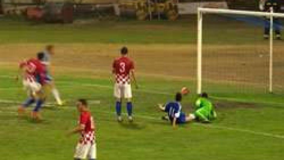 Nazionale Sammarinese Under 21, battuta per 4 a 0 dalla CroaziaUnder 21: Croazia San Marino 4-0