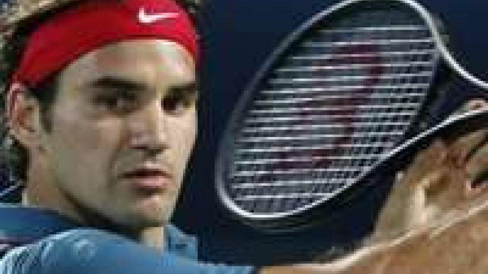 ATP Dubai, impresa Federer: rimontato Djokovic
