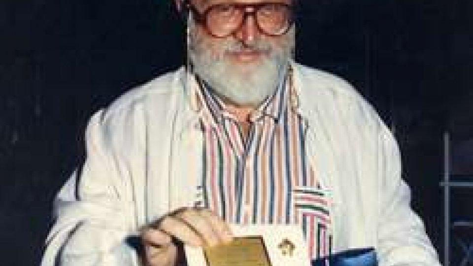 Il regista Sergio Leone