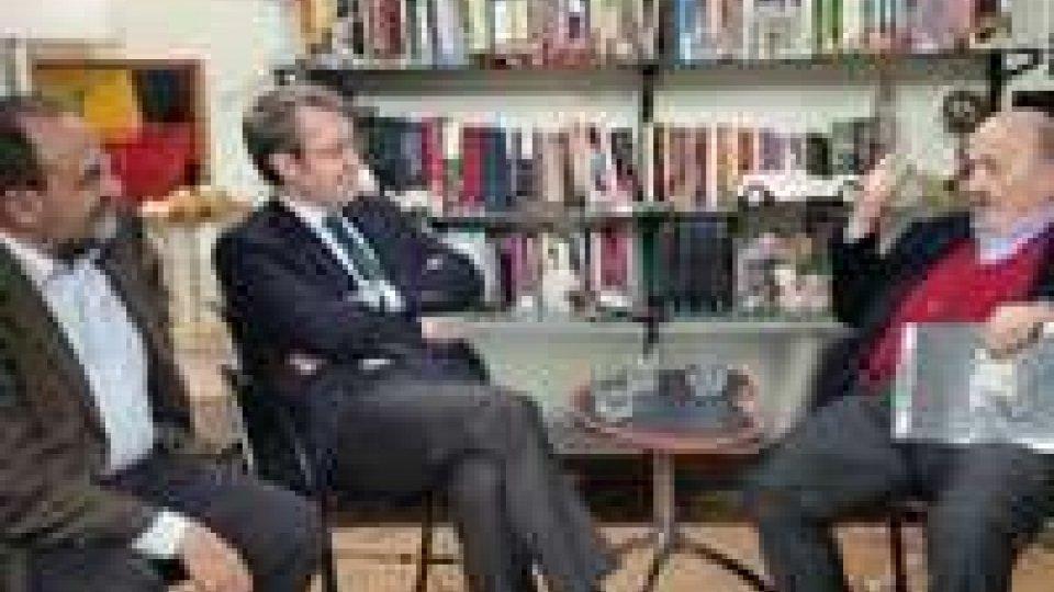 Roma: Sottosegretario Della Vedova ospite di Costanzo e Dg Romeo