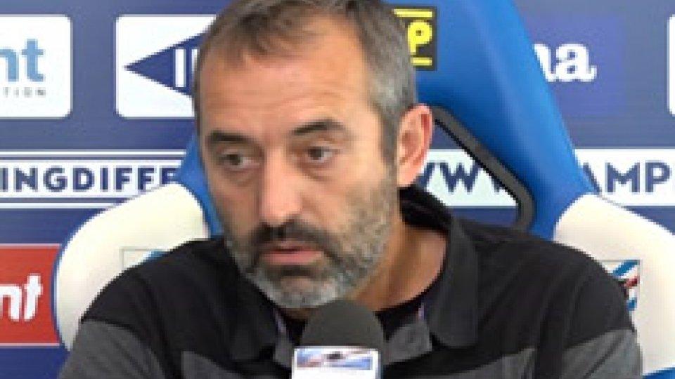 """Marco GiampaoloDomani si recupera Samp-Fiorentina, Giampaolo: """"Vorrei tanti tifosi, ma non sono un capopopolo"""""""