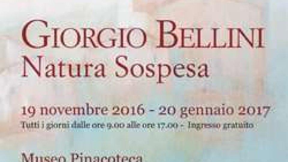"""""""Natura Sospesa"""", la mostra del Maestro Bellini"""