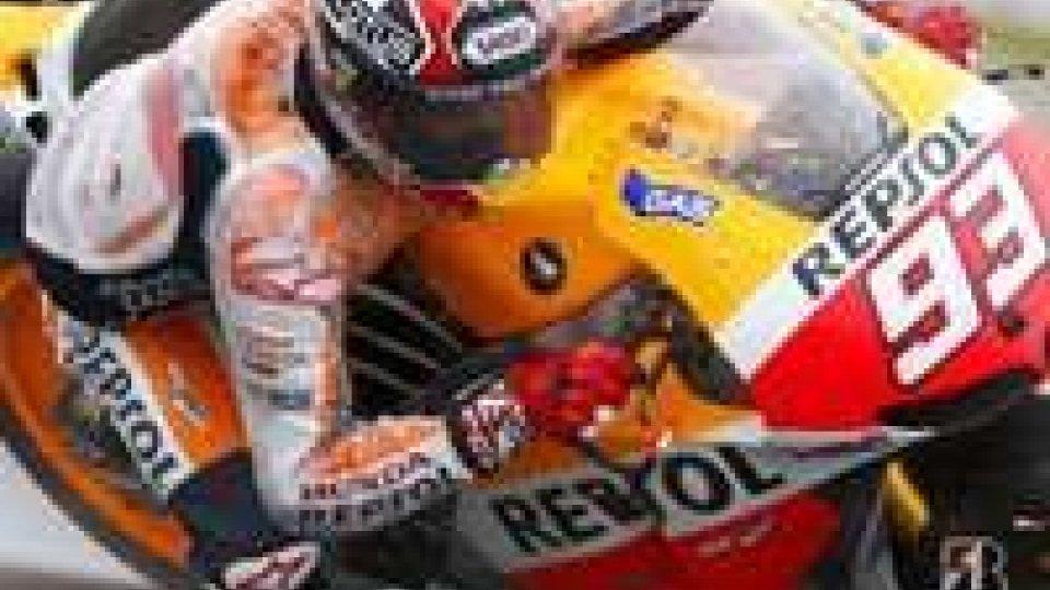 Motogp: Marquez davanti ma Rossi c'èGP San Marino: libere a Marquez, Valentino terzo