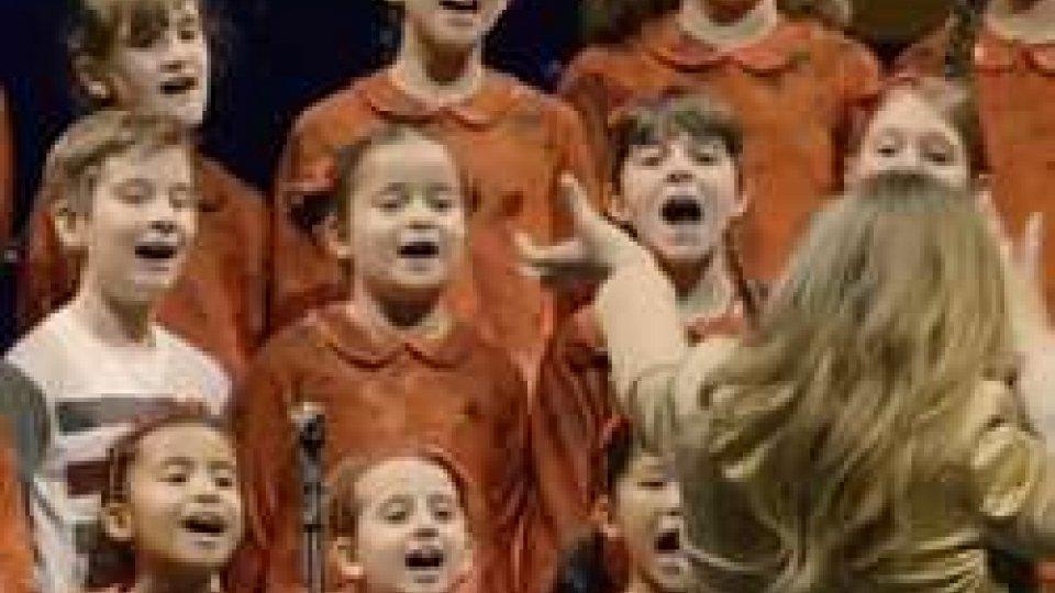 Coro dell'AntonianoMusica: tra Shanghai e Pechino il successo dei piccoli talenti dell'Antoniano di Bologna