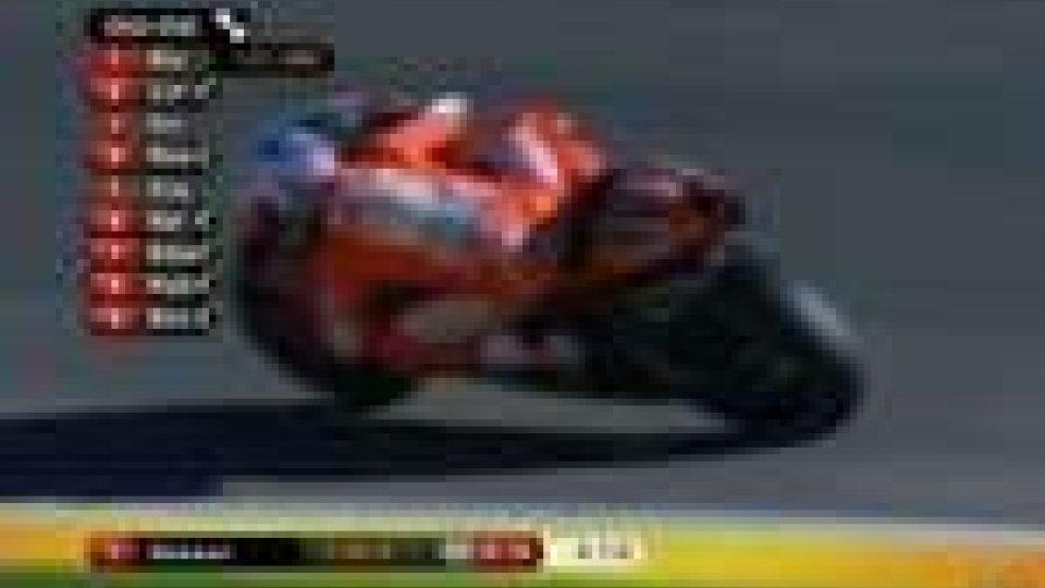 Stoner davanti a tutti nel Gran Premio della Comunità ValencianaStoner davanti a tutti nel Gran Premio della Comunità Valenciana