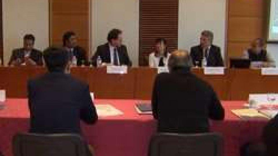 Dialogo fra imprenditori indiani e sammarinesi, l'intervista ai Segretari di Stato Mularoni e Arzilli