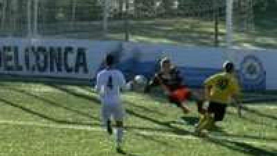 Al termine del girone di andata Juvenes/Dogana e Folgore guidano i rispettivi gironiAl termine del girone di andata Juvenes/Dogana e Folgore guidano i rispettivi gironi