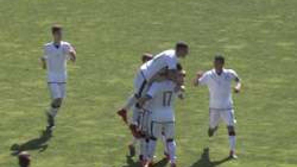 U16, San MarinoU16, San Marino cede all'Italia all'ultimo minuto