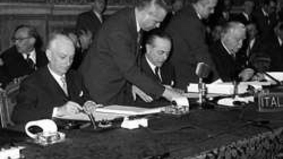 Firma dei Trattati