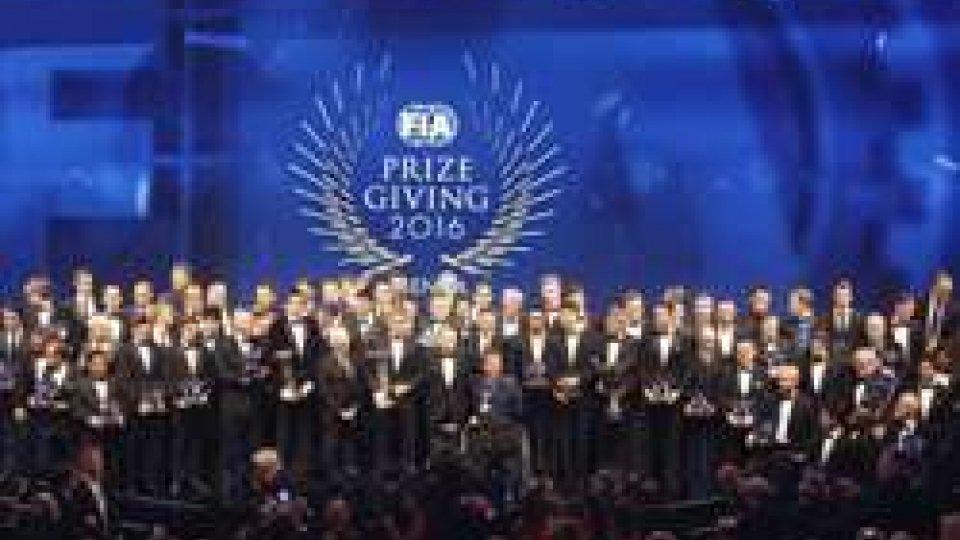 Galà FIA: premiati i campioni del 2016