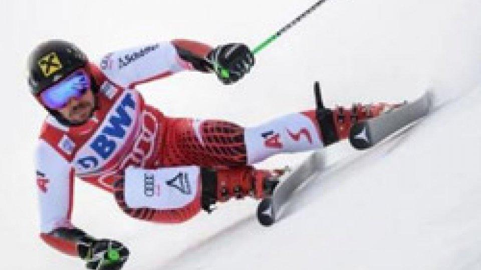 Hirscher vince anche il gigante di Adelboden
