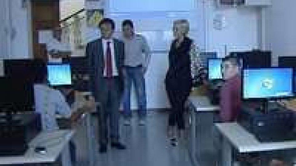 Al CFP inaugurata prima aula multimediale realizzata dagli alunni