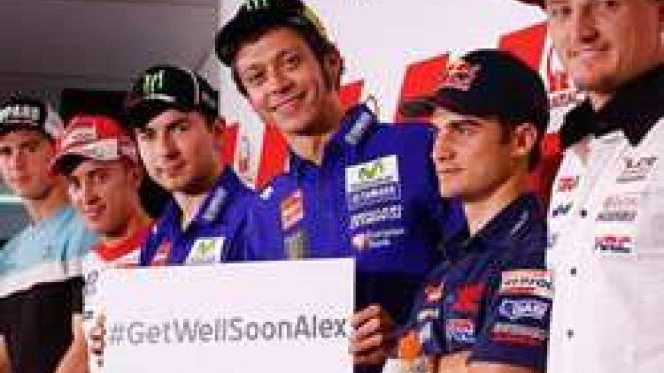 #GetWellSoonAlex, l'augurio dei colleghi a De Angelis