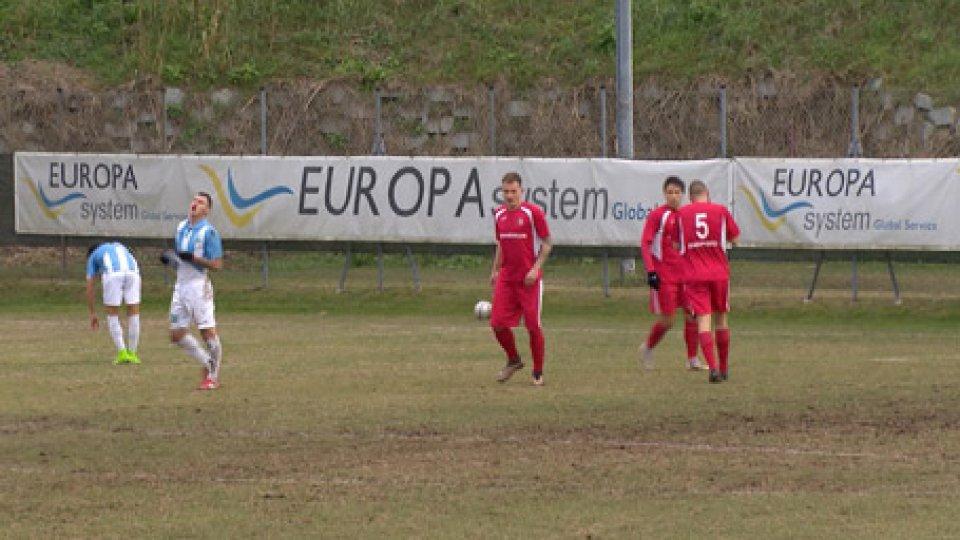 Serie D Girone DSerie D: il San Marino a piccoli passi deve lottare ancora per evitare i play out. Il Cesena acciuffa il pareggio