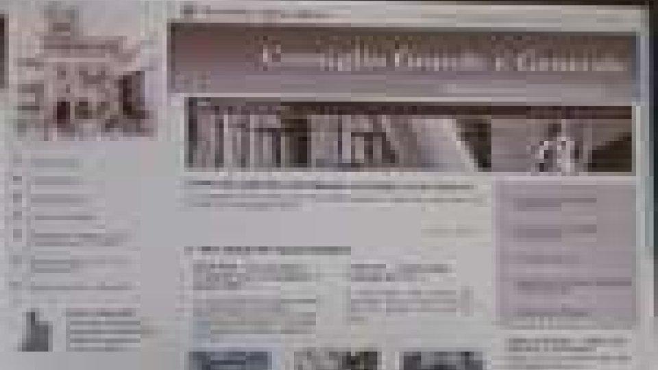 San Marino - Nuovo sito internet per il Consiglio Grande e Generale