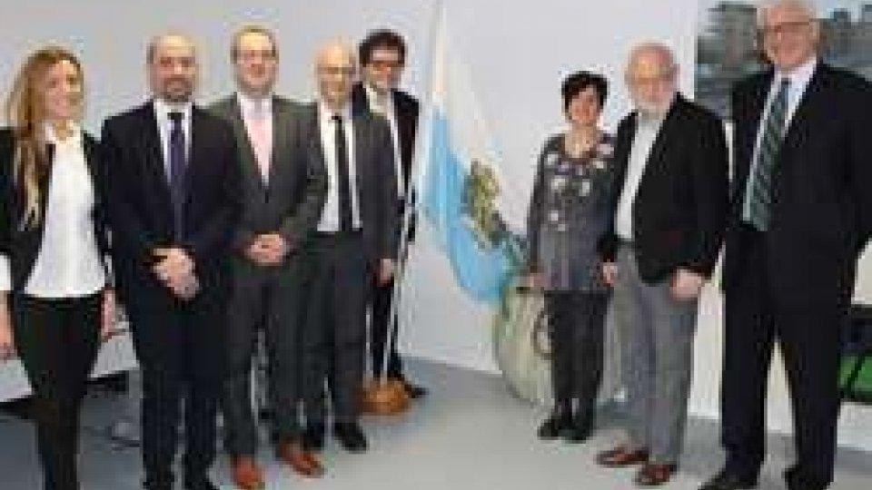 Delegazione dell'OMS in visita a San Marino