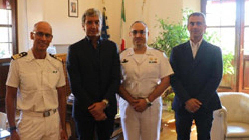 Rimini: ricevuto in Residenza Comunale il nuovo comandante della Capitaneria di porto