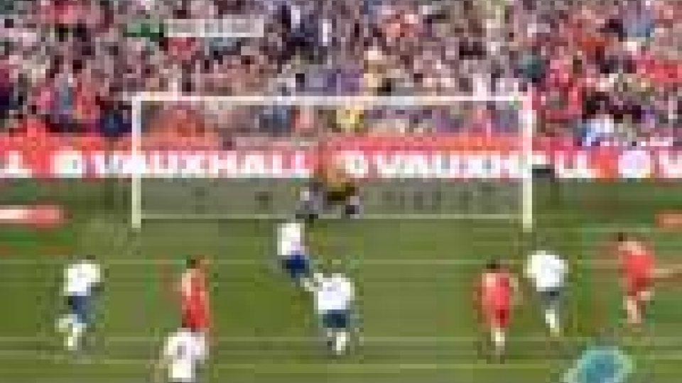 Calcio internazionale: l'Inghilterra batte il Galles e si porta in testa al gruppo G