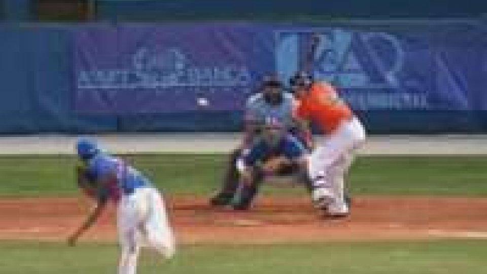 Baseball. Sfida scudetto Rimini-San Marino.Baseball. Sfida scudetto Rimini-San Marino.