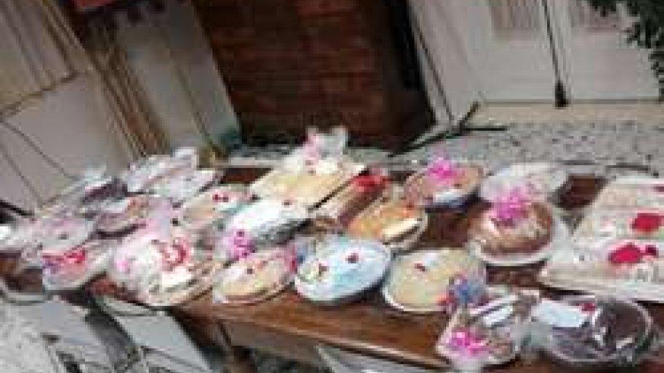 Chiesanuova: incasso record per le torte solidali