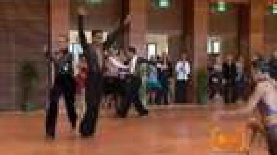 La danza sportiva approda sul TitanoLa danza sportiva approda sul Titano