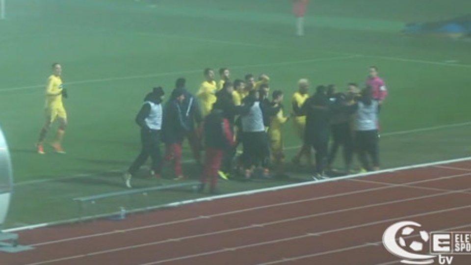 Imolese-Ravenna 2-2Serie C: nella nebbia è 2-2 il derby Imolese-Ravenna