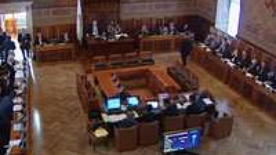 Consiglio: esaurito il confronto sull'assestamento di bilancioConsiglio: esaurito il confronto sull'assestamento di bilancio