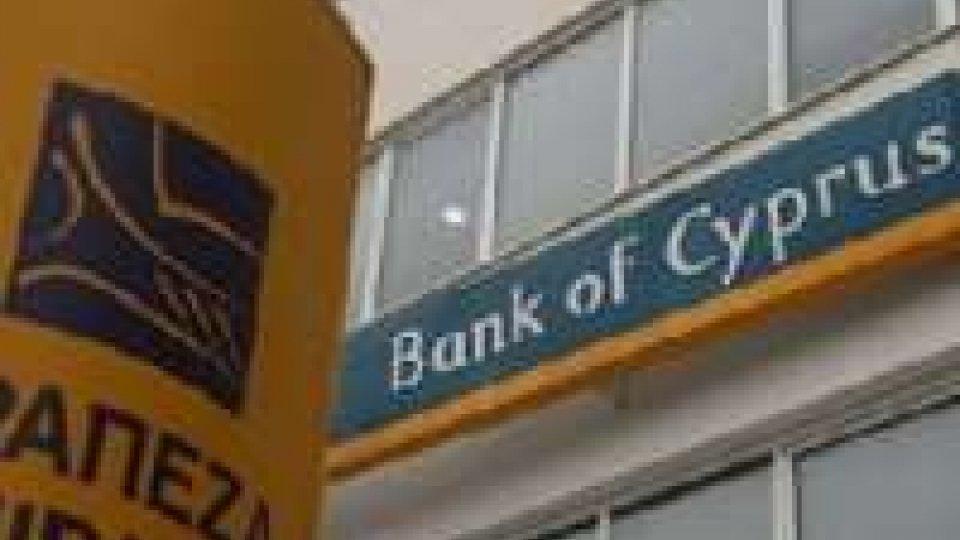 Cipro: prelievo forzoso al 37,5% sui maxi conti