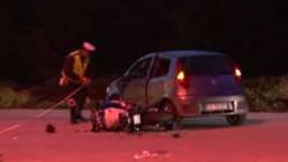 incidente PietracutaPietracuta: ferito un motociclista sammarinese