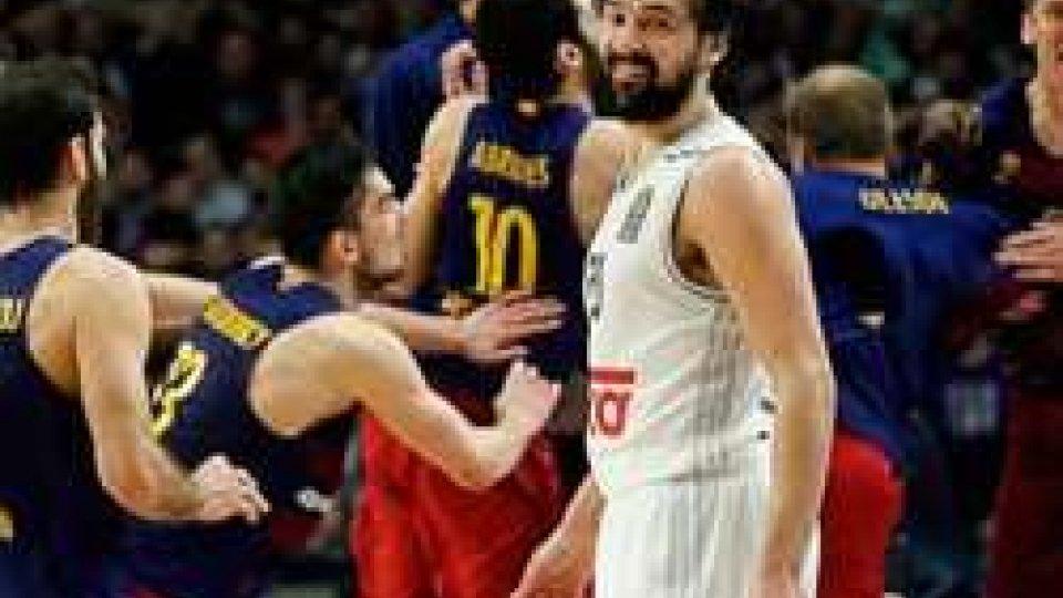 Eurolega: Real pazzesco nel Clàsico di Spagna