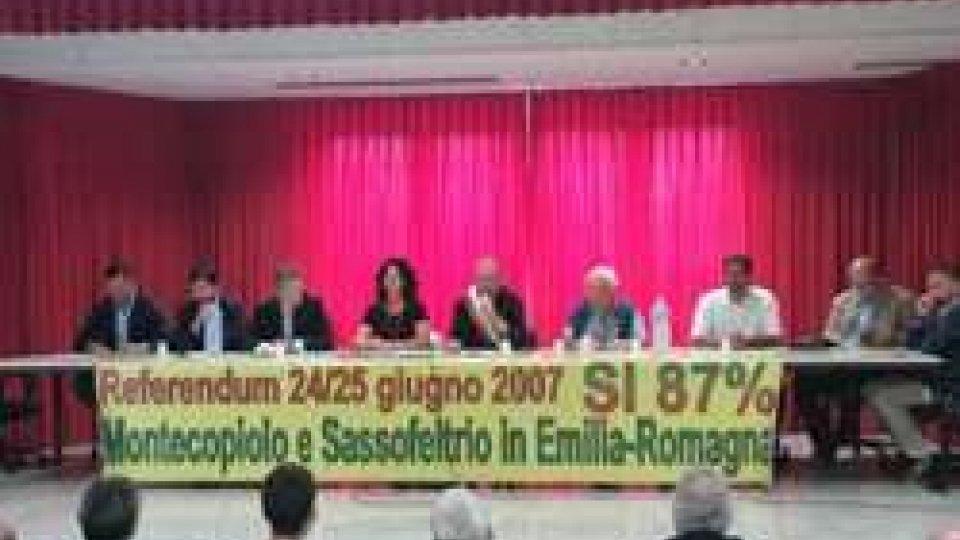 La verità sul referendum di Montecopiolo e Sassofeltrio. La  solidarietà dei sette Comuni della Valmarecchia e della Regione E.R: