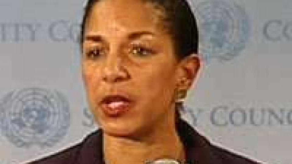 "Libia, Rice: ""su Bengasi basata su informazioni intelligence"""