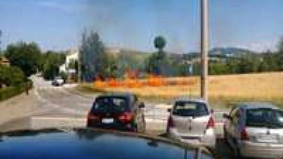 Incendio a Fiorina domato in breve tempo