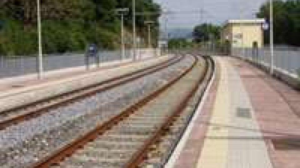 Ferrovia: Investimento non mortale, ferma per un'ora la circolazione sulla linea Ancona-Rimini