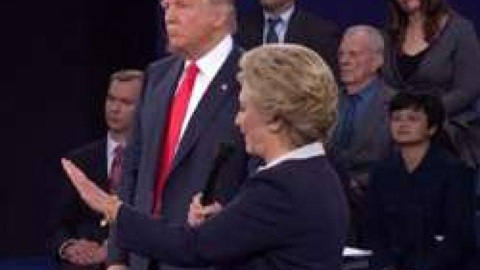 Trump e ClintonUSA 2016, secondo duello tv: Hillary vince ma non con il KO