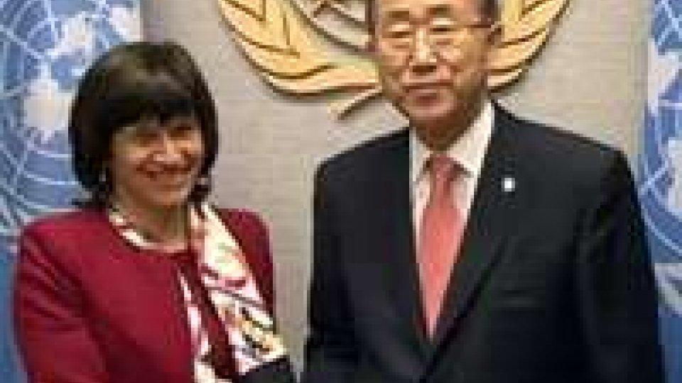 Ban Ki-moon in visita ufficiale a San Marino nella prossima primaveraBan Ki-moon in visita ufficiale a San Marino nella prossima primavera