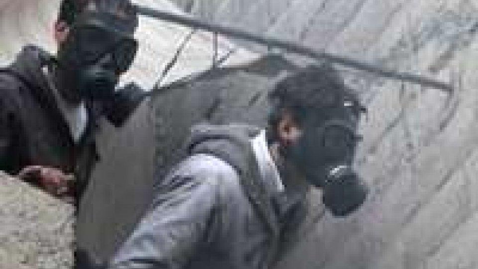 Siria: Usa certi dell'uso di armi chimiche