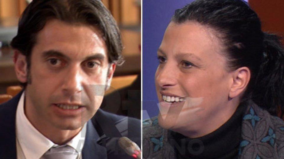Tony Margiotta e Giovanna Cecchetti