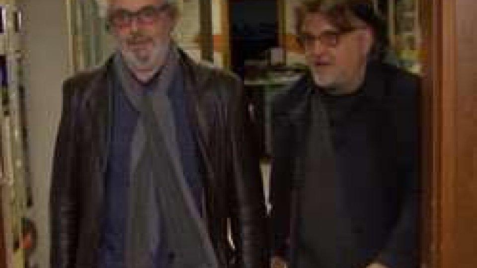 Piovani visita gli studi di RtvVISITA da OSCAR con PIOVANI in(R)tv