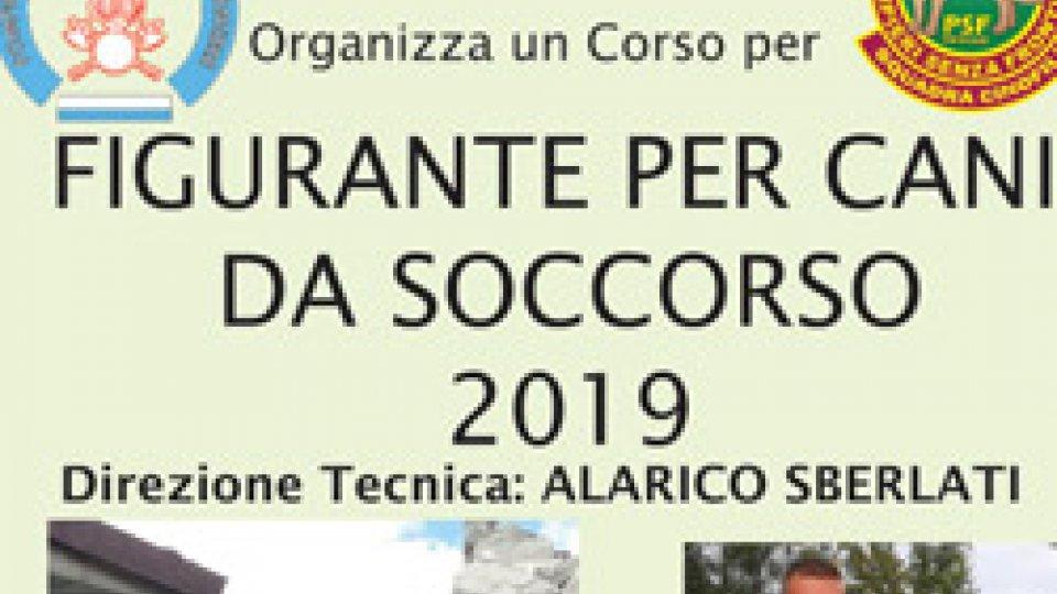 Pompieri senza frontiere: il 19-20 gennaio a Faetano corso da Figurante per Cani da Soccorso
