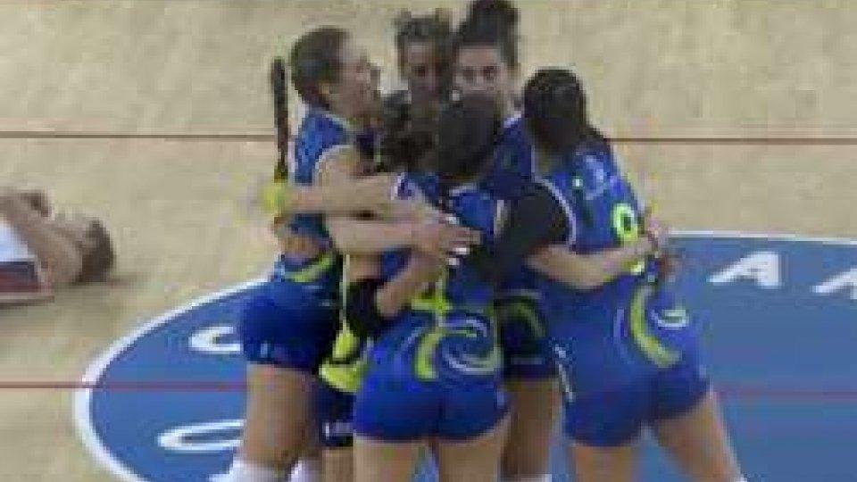 Volley: vincono le squadre sammarinesi