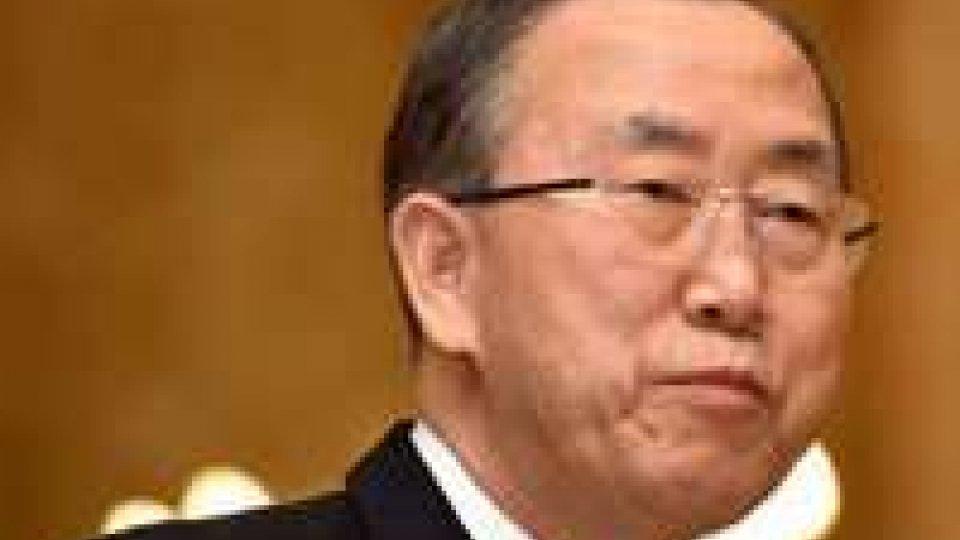 """Siria: Ban """"scettico"""" su disarmo chimico da parte di Damasco"""
