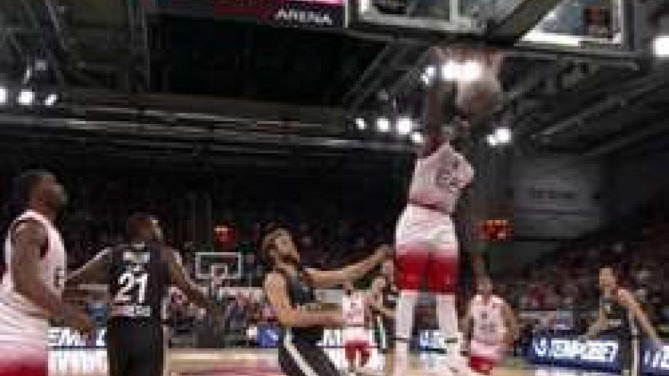 Bamberga - Milano 106-102Eurolega: Milano rimontata e battuta a Bamberga