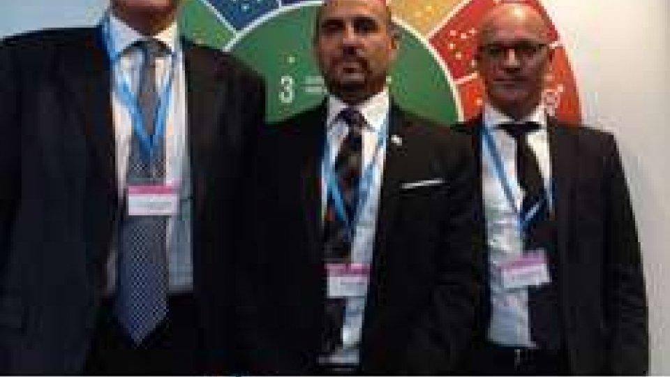 """La delegazione sammarineseMeeting OMS Budapest: Franco Santi, """"positivo il bilancio della partecipazione di San Marino"""""""