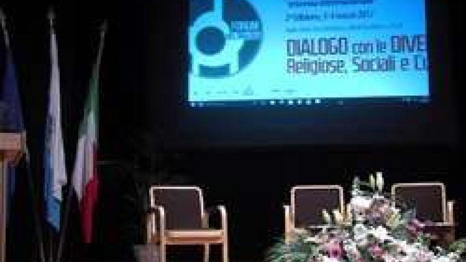 FORUM sammarinese: crocevia internazionale  del dialogo interreligiosoFORUM sammarinese: crocevia internazionale  del dialogo interreligioso